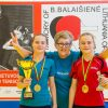 Stalo teniso žvaigždutes kaunietė ugdo Vilniuje
