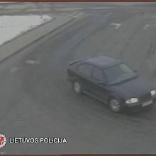 Ieško, kas prekybos centro aikštelėje apgadino automobilį