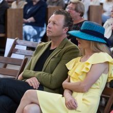 Žinomi kauniečiai aukojo naujos bažnyčios statybai