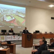 R. Šimašius įspėja dėl stadiono: pasigirdo gandų apie politinį sabotažą