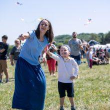 Aitvarų festivalis – amžinas vaikystės džiaugsmas
