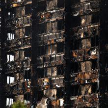 Gaisras Londono daugiabutyje pareikalavo mažiausiai 17 gyvybių