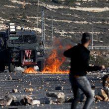D. Trumpo sprendimas dėl Jeruzalės kursto neramumus, neišvengta aukų