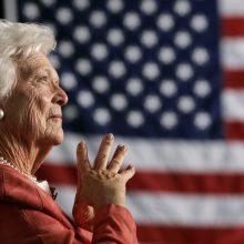 Mirė buvusi JAV pirmoji ponia B. Bush <span style=color:red;>(papildyta)</span>