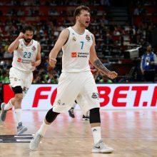 """Antrajame Eurolygos pusfinalyje """"Real"""" palaužė CSKA komandą"""