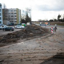 Akademijoje prasidėjo transporto mazgo rekonstrukcija – vairuotojų laukia iššūkiai