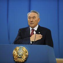 """Kazachstanas ruošiasi įtvirtinti N. Nazarbajevo """"amžino vadovo"""" statusą"""