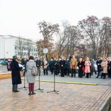 Lenkija dėkoja už L. Kaczynskio vardo suteikimą gatvei Vilniuje