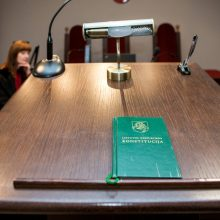 Įteisinti tarėjus teismuose siūlo nuo 2021 metų