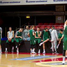 Rinktinė ruošiasi akistatai su kroatais – tikrai nebus lengvos rungtynės