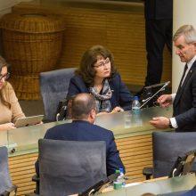 Seimas rudens sesiją pratęsė iki vasario