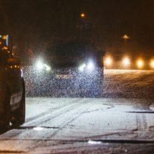 Keliai – slidūs: trys rajonai, kur eismo sąlygos sudėtingiausios