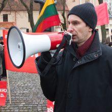 Prokuroras patvirtino: A. Paleckis suimtas jau nuo spalio