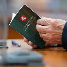Žinias Konstitucijos egzamine tikrinosi daugiau kaip 32 tūkst. žmonių