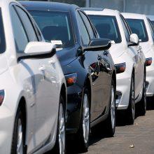 Naujų automobilių pardavimas Lietuvoje auga įspūdingu tempu
