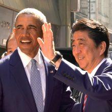 """B. Obama perspėja: Šiaurės Korėja kelia """"realią grėsmę"""""""