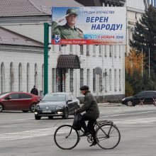 Separatistai Rytų Ukrainoje ignoruoja Vakarus ir rengia lyderio rinkimus