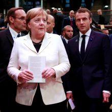 A. Merkel perspėja dėl nacionalizmo grėsmių ir pavojų ES