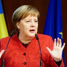 Dėl lėktuvo gedimo Vokietijos kanclerė praleis G-20 forumo atidarymą