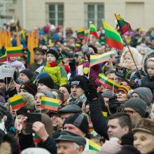 Vilnius pradeda švęsti Vasario 16-ąją