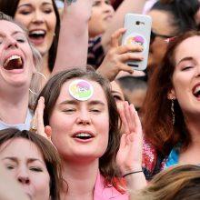 Airijoje laimi abortų šalininkai