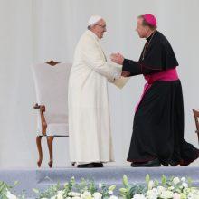 Popiežius atsižvelgė į arkivyskupo G. Grušo prašymą