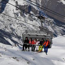 Italijoje sniego griūtis nusinešė trijų žmonių gyvybes