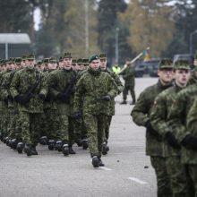 Baigtas šių metų šaukimas į nuolatinę privalomąją karo tarnybą