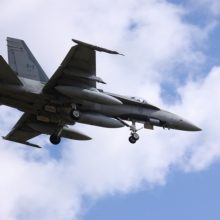 Praėjusią savaitę NATO naikintuvai kartą lydėjo rusų orlaivius