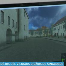 Vilniaus Didžiąją sinagogą įamžino virtualiame pasaulyje