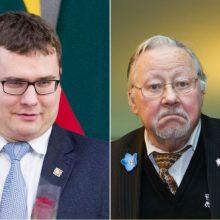 V. Landsbergis siūlo L. Kasčiūną mesti iš partijos <span style=color:red;>(narystė sustabdyta metams)</span>