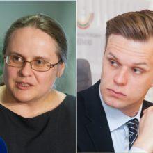 Karas nesibaigia: A. Širinskienė siūlo plėsti tyrimą dėl konservatorių