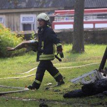 Kauno rajone statybiniame vagonėlyje sudegė moteris