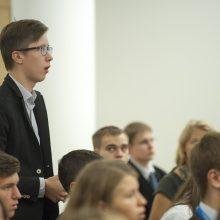 Seime – Europos jaunimo parlamento sesija