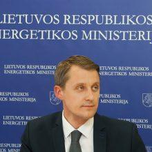 Energetikos ministras tikisi taikiai susitarti su vokiečiais