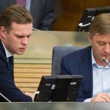 Griūna R. Karbauskio Kultūros komitetas, opozicija siūlo išeitį