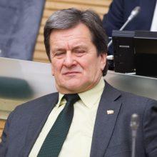 """R. Andrikis paliko """"Tvarkos ir teisingumo"""" frakciją"""