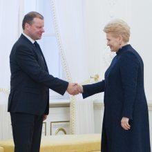 Populiariausi – D. Grybauskaitė, V. Matijošaitis ir S. Skvernelis