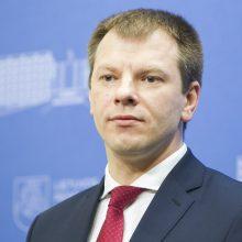 V. Šapoka Briuselyje dalyvaus Euro grupės posėdžiuose