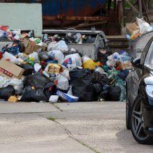 Per savaitę Vilniuje – 240 pažeidimų dėl neišvežtų atliekų, skiriamos baudos