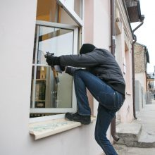 Vilniuje iš namo vagys išvilko turto už 19 tūkst. eurų