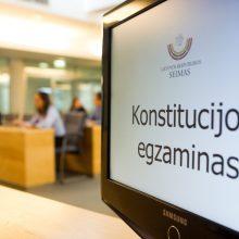 Lietuvoje rengiamas Konstitucijos egzaminas