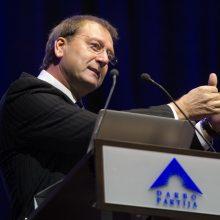 Darbo partijos suvažiavimas naują pirmininką rinks kitų metų sausį