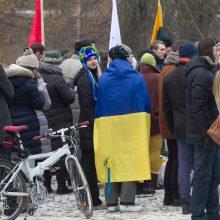 Ukrainiečiai Vilniuje nori savo bažnyčios