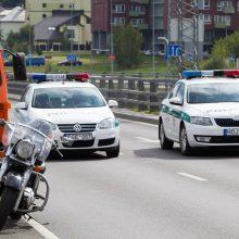 Gegužę keliuose – sustiprinti policijos reidai