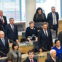 Lietuvos partinės sistemos bėda – politikai mano esantys nepakeičiami