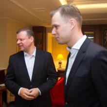 G. Landsbergis: premjeras naudojasi tarnybine padėtimi