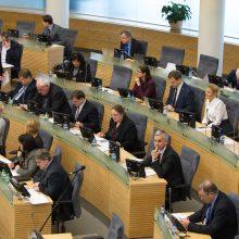 Po ilgų svarstymų Seimas ratifikavo ES ir Kanados susitarimus
