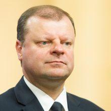 Premjeras atsargiai vertina siūlymą dėl pilietybės mažinti referendumo kartelę