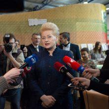 D. Grybauskaitė ragina Vyriausybę stiprinti pagalbą senoliams